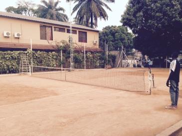 Tennis in Kinshasa