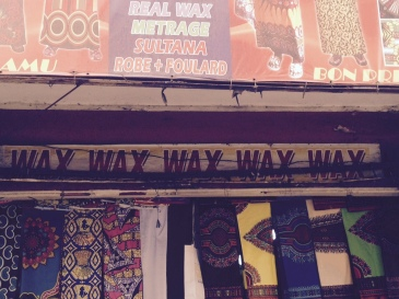 Wax Wax - Tissue shop Kinshasa