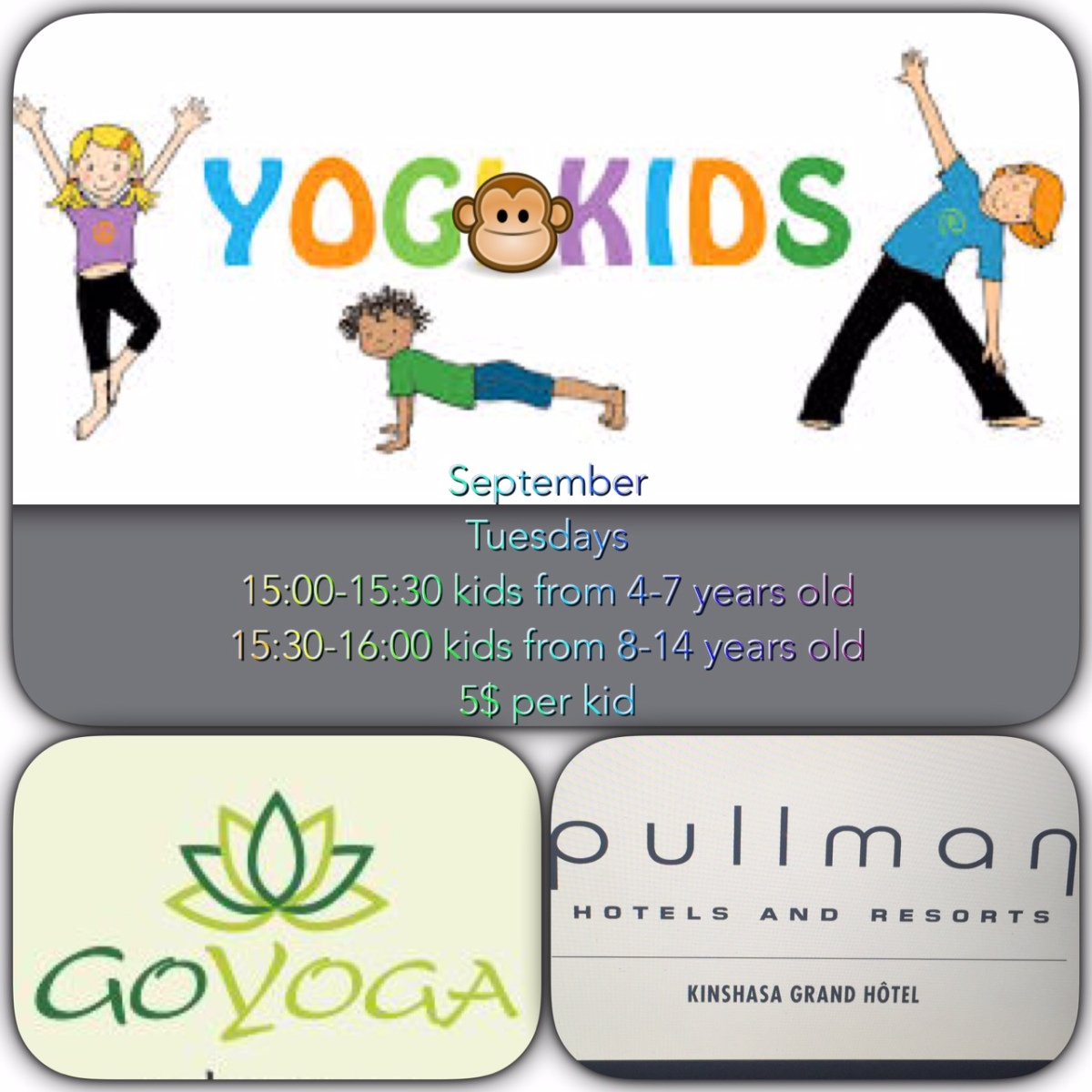 YOGAKIDS - Yoga for Kids in Kinshasa