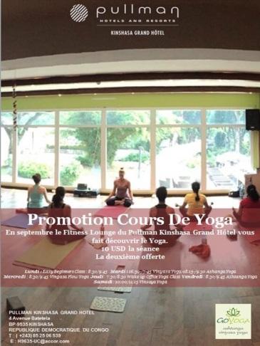 Yoga in PULLMAN Grand Hotel