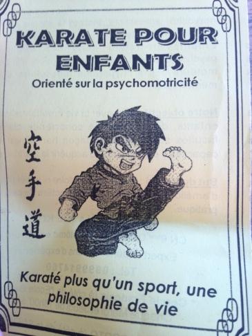 Karate in Kinshasa