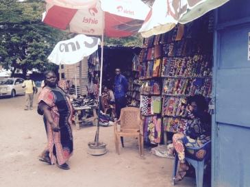 African pagne/ fabric shopping in Kinshasa- Le Beach