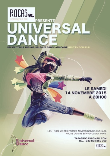 Universal Dance @Rocas Saturday 14 November