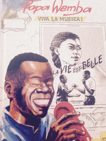 Papa Wemba in Petit Comité à Kinshasa